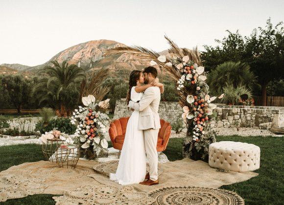 Decoración floral de boda en Alicante